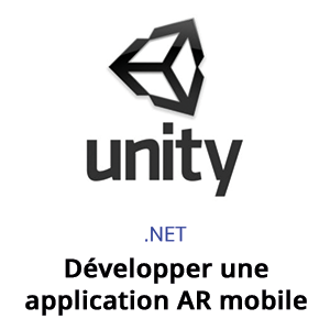 formation - unity developper une application AR mobile