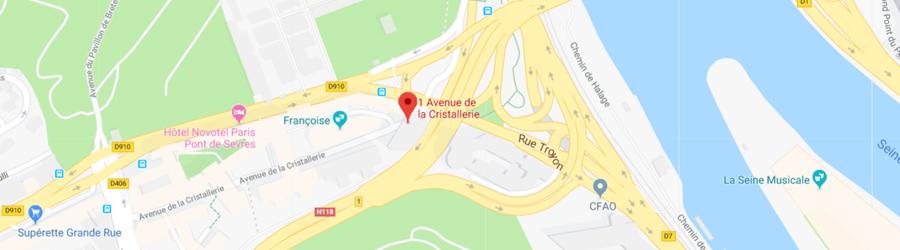 1 avenue de la cristallerie 92310 Sèvres