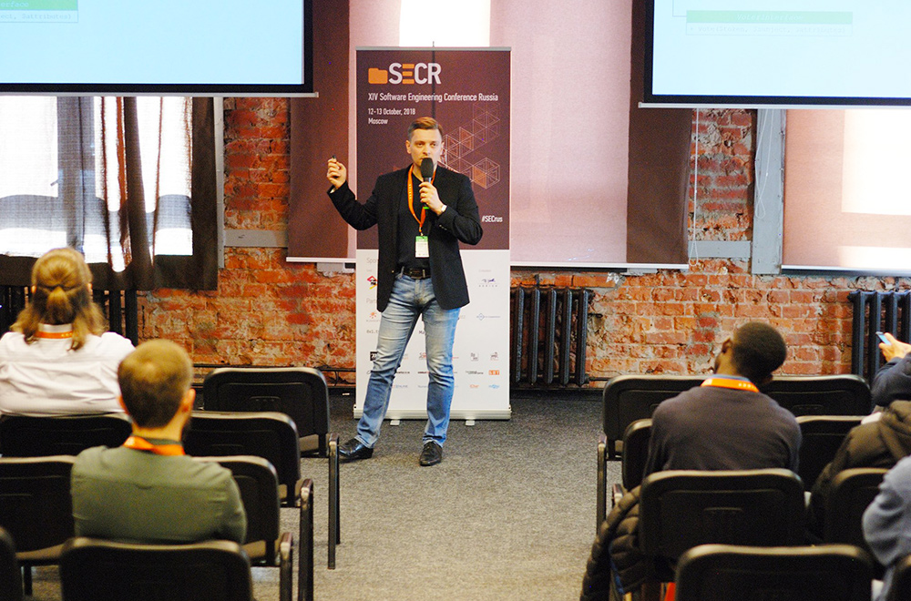 Software Engineering Conference Russia 2018 - Webnet Actualités