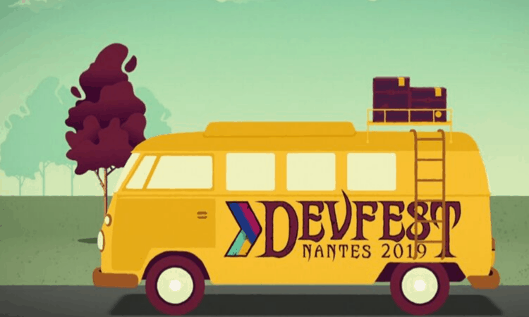 Devfest Nantes logo webnet